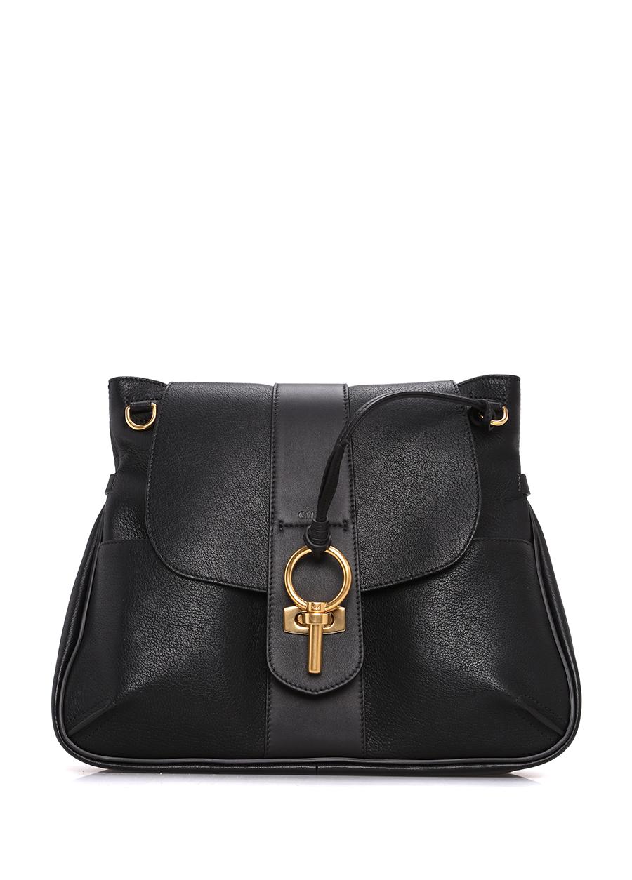 Chloe Lexa Siyah Çapraz Askılı Çanta