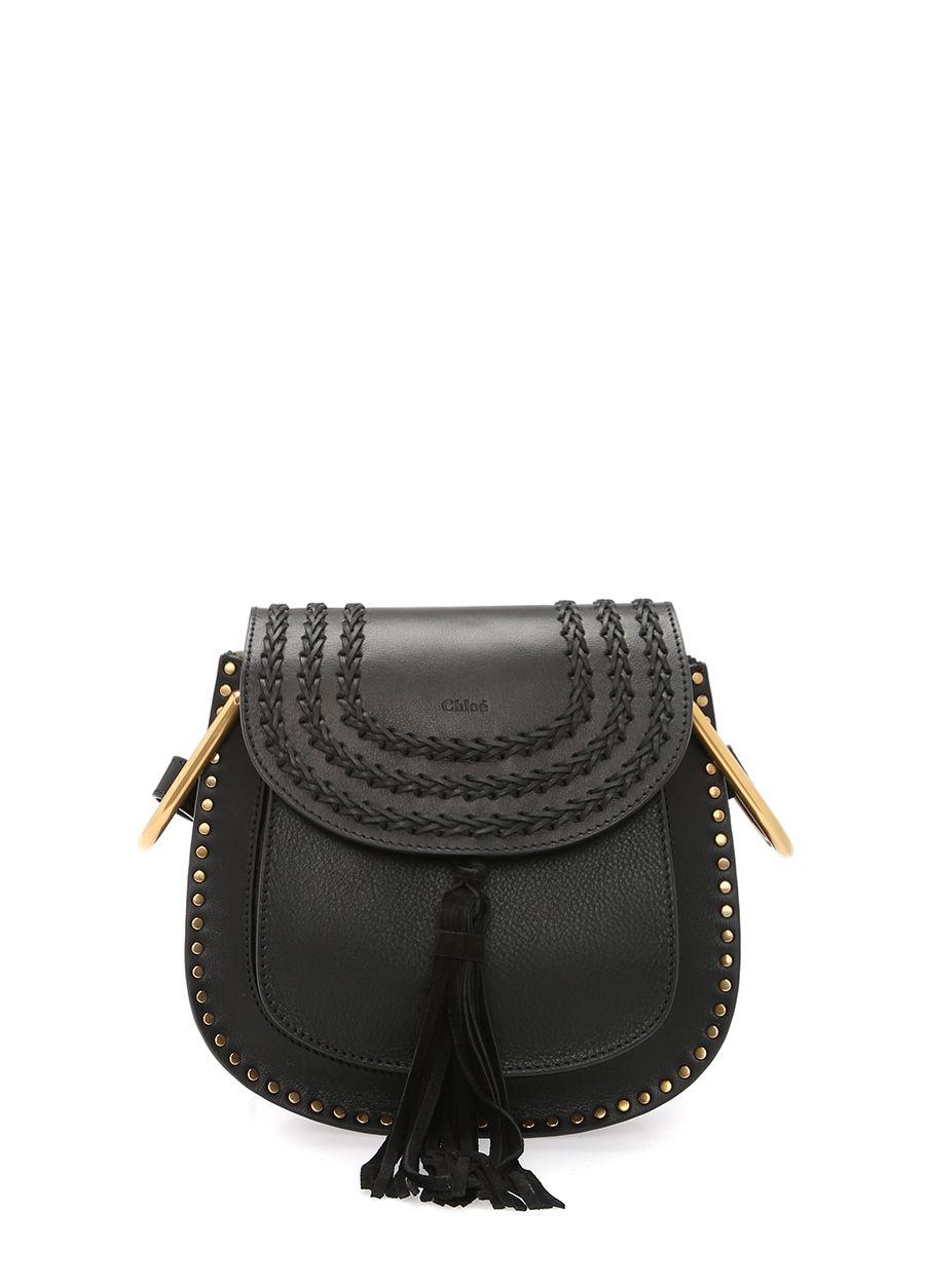 Chloe Hudson Siyah Çapraz Askılı Çanta